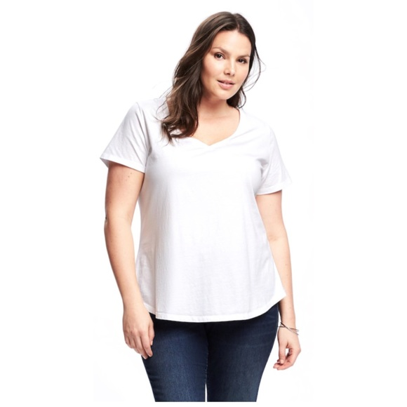 6a0206766d Old Navy Tops | Plussize Everywear Vneck Tee Relaxed | Poshmark